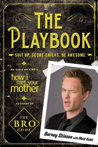 Barney Stinson Playbook GIft Rakhi