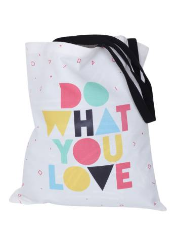 Do What You Love Quote Tote Bag