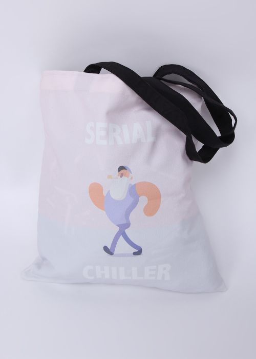 Serial Chiller Tote Bag