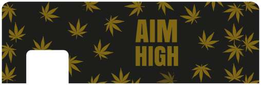 Aim High Card Sticker