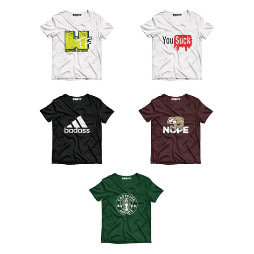 Pack Of 5 T-Shirt