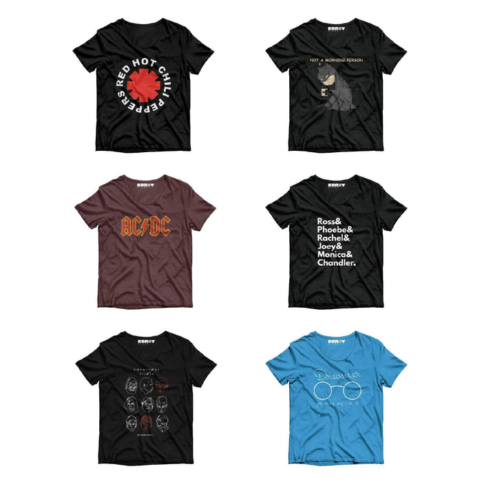 Pack Of 6 T-Shirts