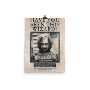 Wanted Sirius Black Poster