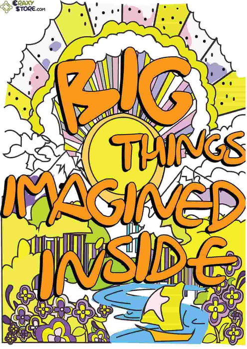 Big Things Imagined Poster
