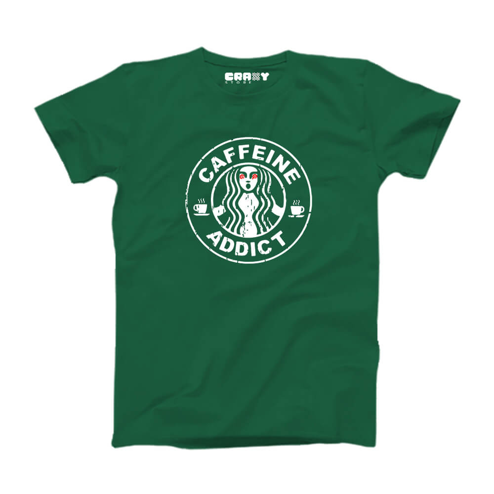 CAFFEINE ADDICT T-Shirt