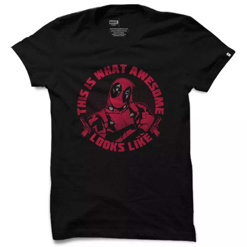 Looks Like Awesome Deadpool T shirt