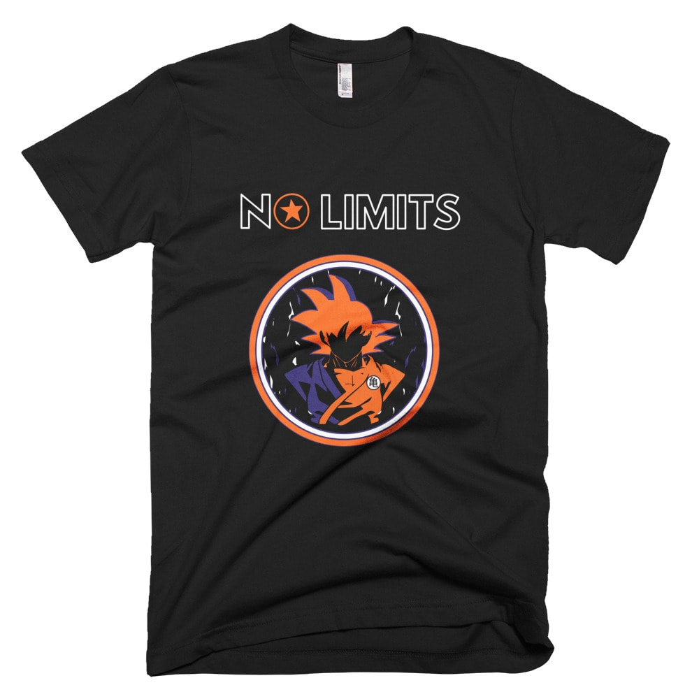 No Limits Goku T-shirt