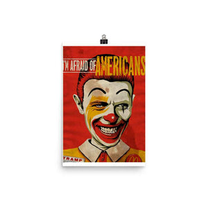 I'm Afraid of Americans Movie Poster