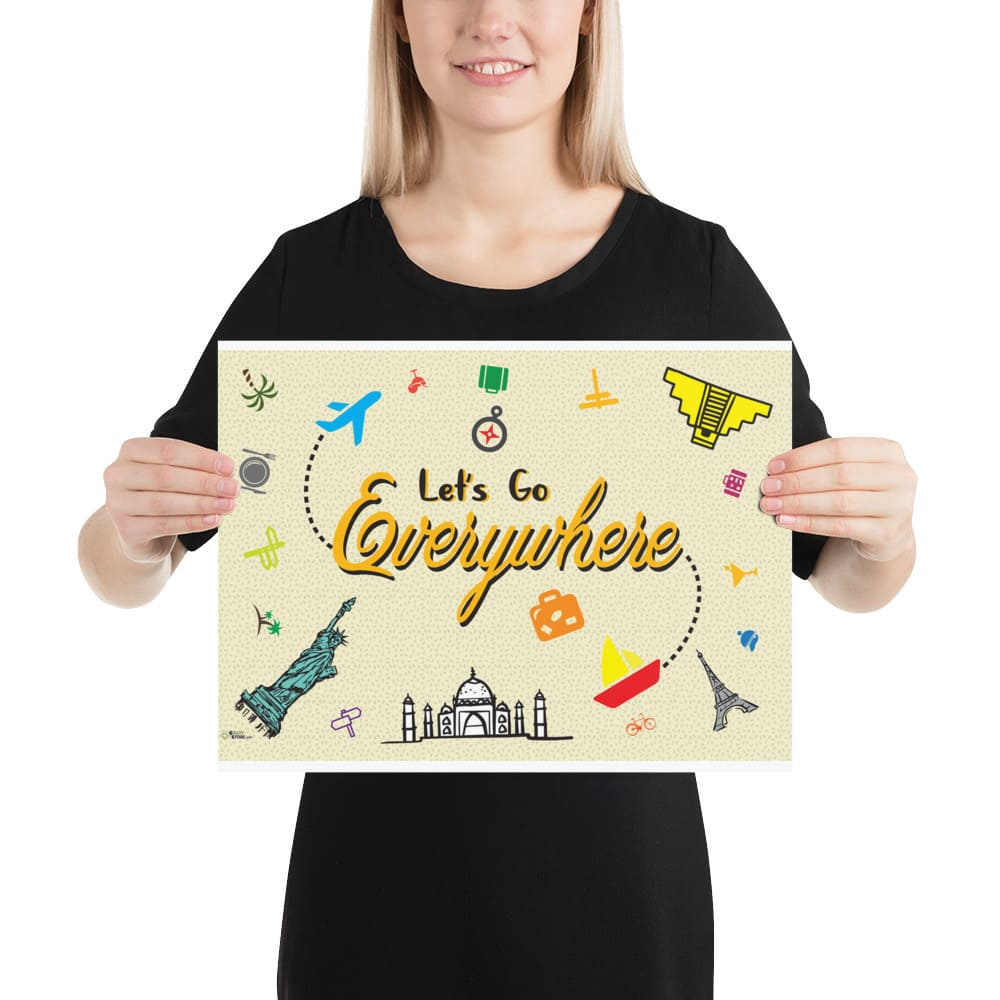 Lets Go Everywhere Poster