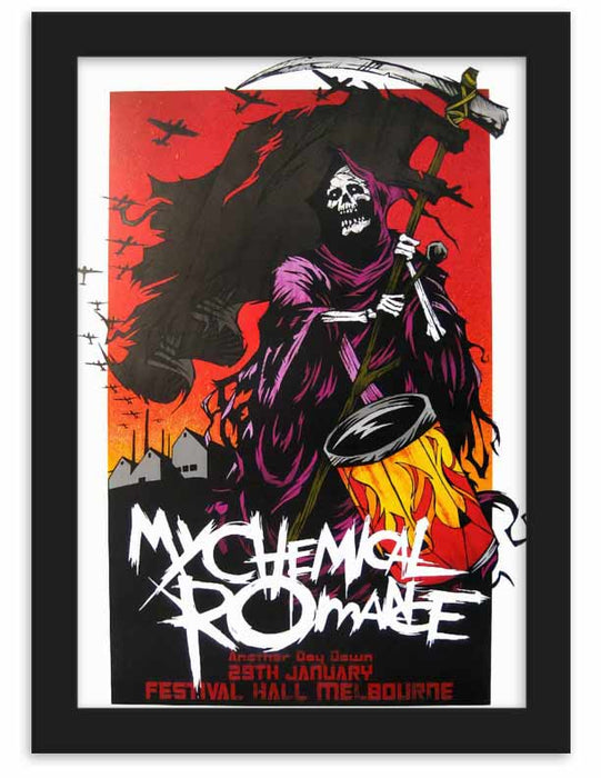 Rock Band Posters Bundle of 4