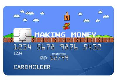 Making Money Card Sticker