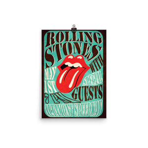 Rolling Stones Artwork Poster