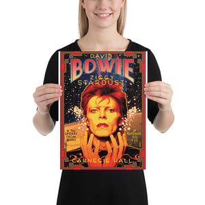 David Bowie Artwork Poster