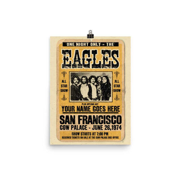 Eagles Artwork Poster