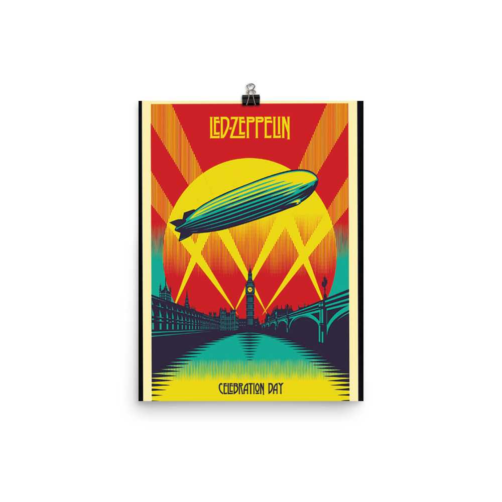 Led Zeppelin Artwork Poster