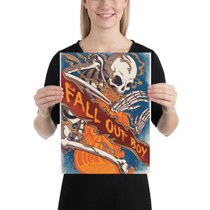 Fall Out Boy Artwork Poster
