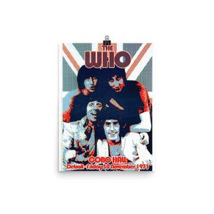 The Who Artwork Poster