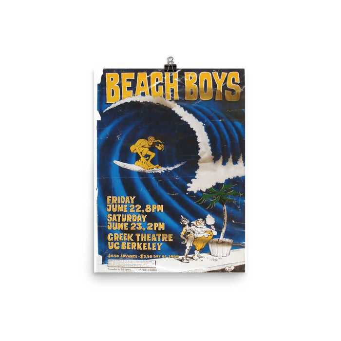 Beach Boys Artwork Poster