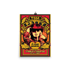 Tom Petty Artwork Poster