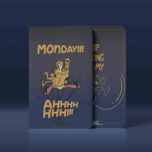 Scooby Do Monday Notebook