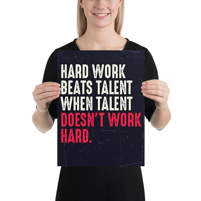 Talent Artwork Poster