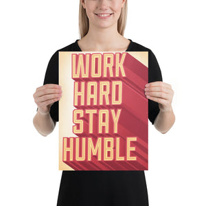 Humble motivational Posters