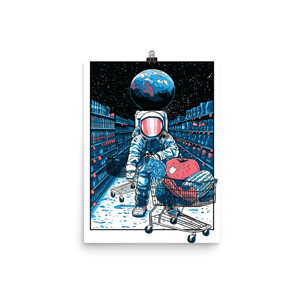 Spaceman  Artwork Poster