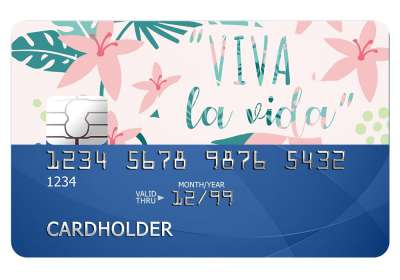 Viva La Vida Card Sticker