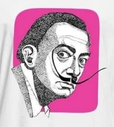DALI Art Hip Hop T-Shirt