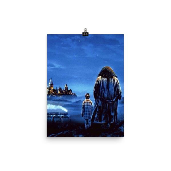 Harry & Hagrid Poster