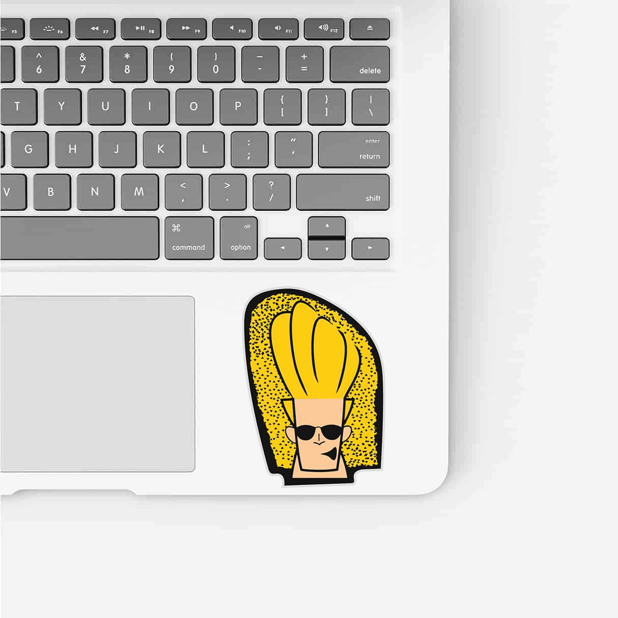 Johnny Bravo Sticker