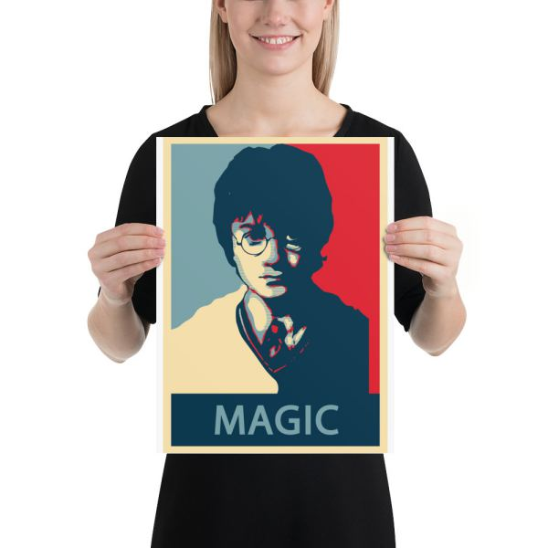 Harry Potter Artistic Poster