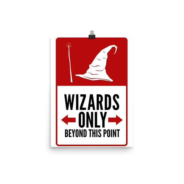 No Wizards Beyond Poster