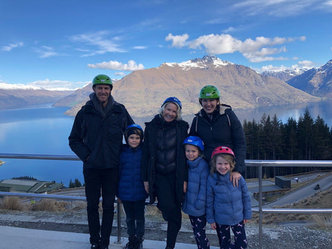 Cardone Family in Queenstown, NZ