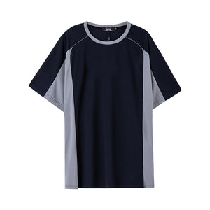 Sports Contrast Panel T-shirt - 02JT2345