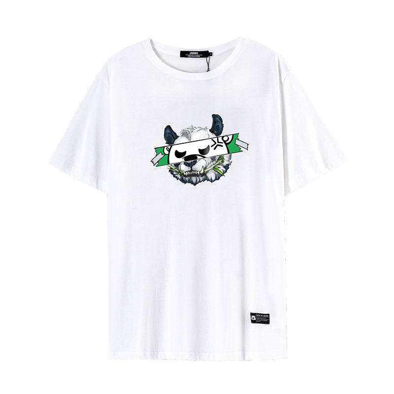 Cartoon Animal Print T-Shirt - 02JT3142