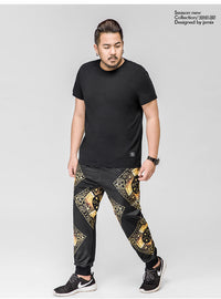 Graphic Full Length Joggers  - 72JI0186