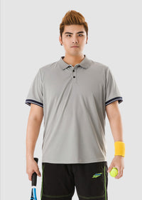 Striped Trim Polo Shirt - 02JL2248