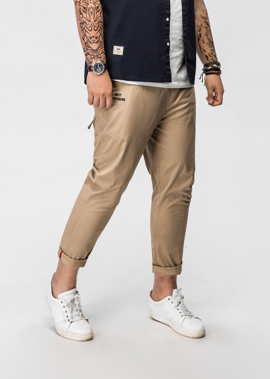 Straight Fit Chinos - 82JK0300