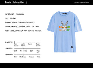Rabbit Graphic T-Shirt - 02JT3224