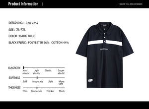 Striped Color block Polo Shirt - 02JL2252