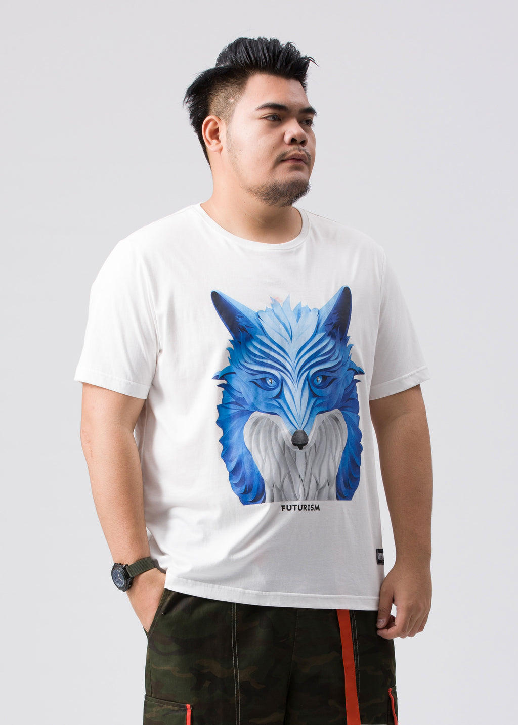 Fox Graphic  T-Shirt  - X92JT1262