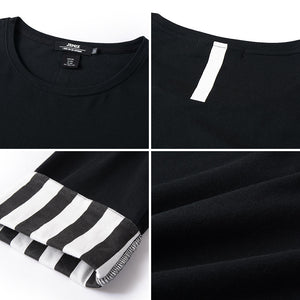 Striped Panel T-Shirt - 81JT0799
