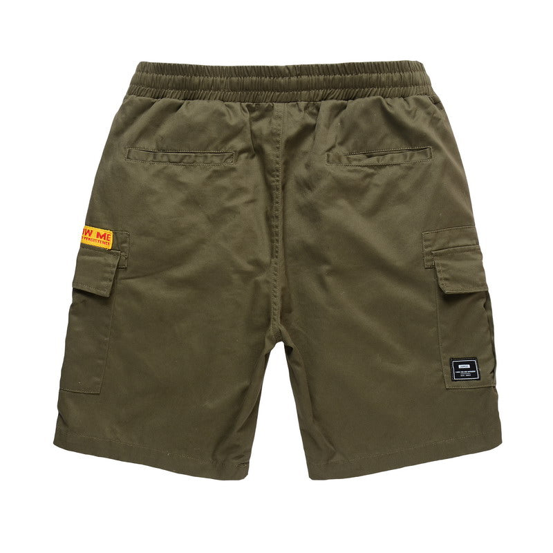 Cotton Cargo Shorts -  82JK0305