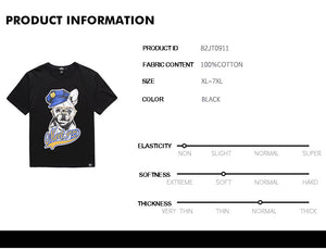Dog Graphic T-Shirt - 82JT0911