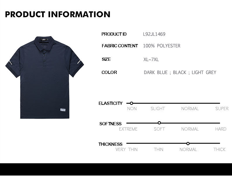 Solid Polo Shirt -  L92JL1469