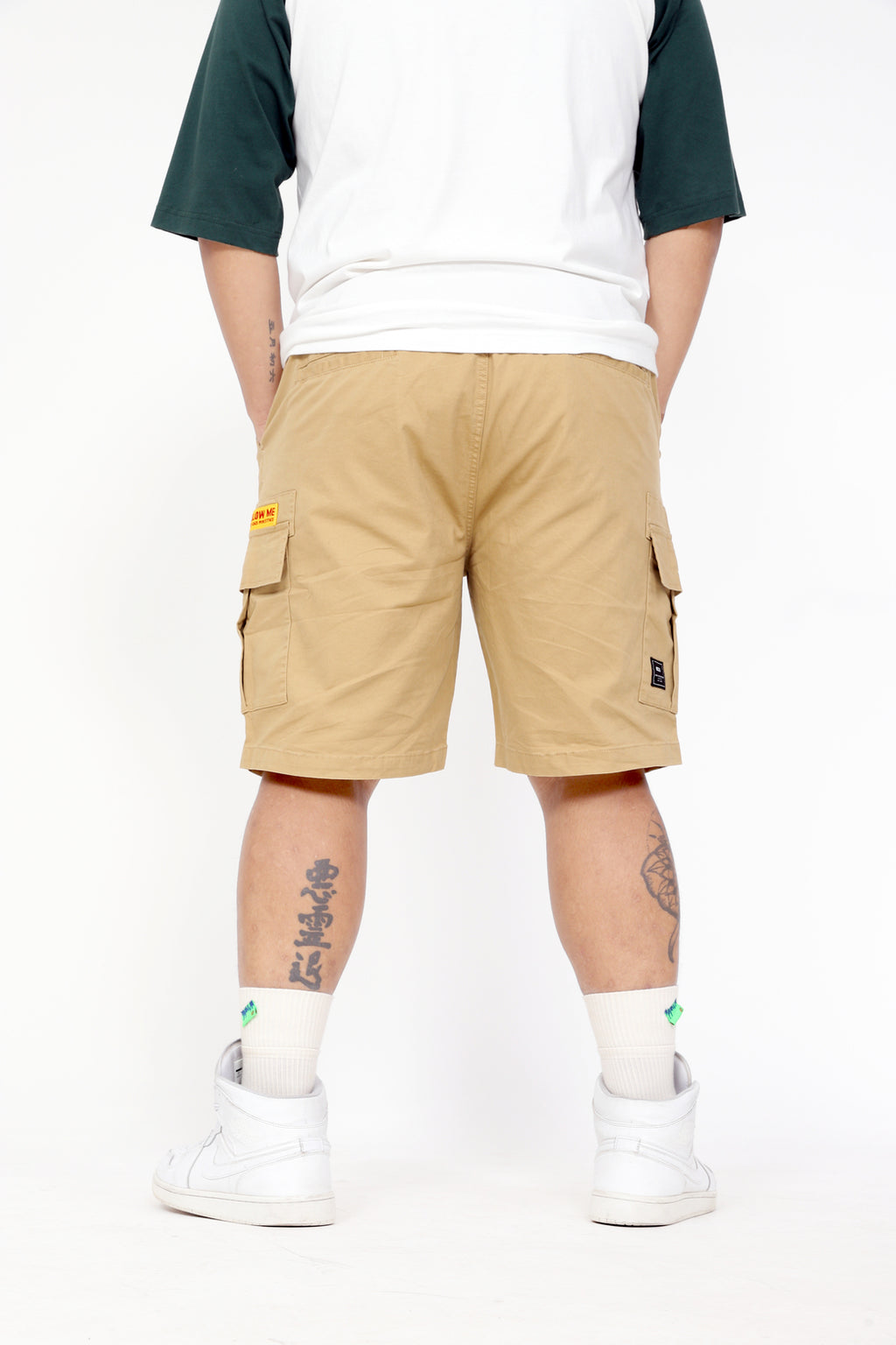 Cotton Cargo Shorts - T02JK4273