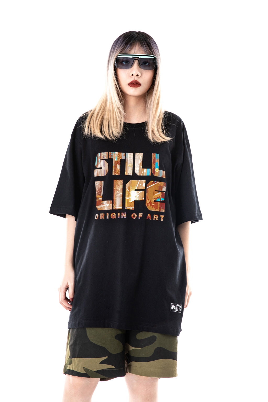 Letter Graphic T-shirt - 02JT3143