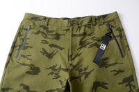 Chino Shorts With Camo Print - 82JK0277