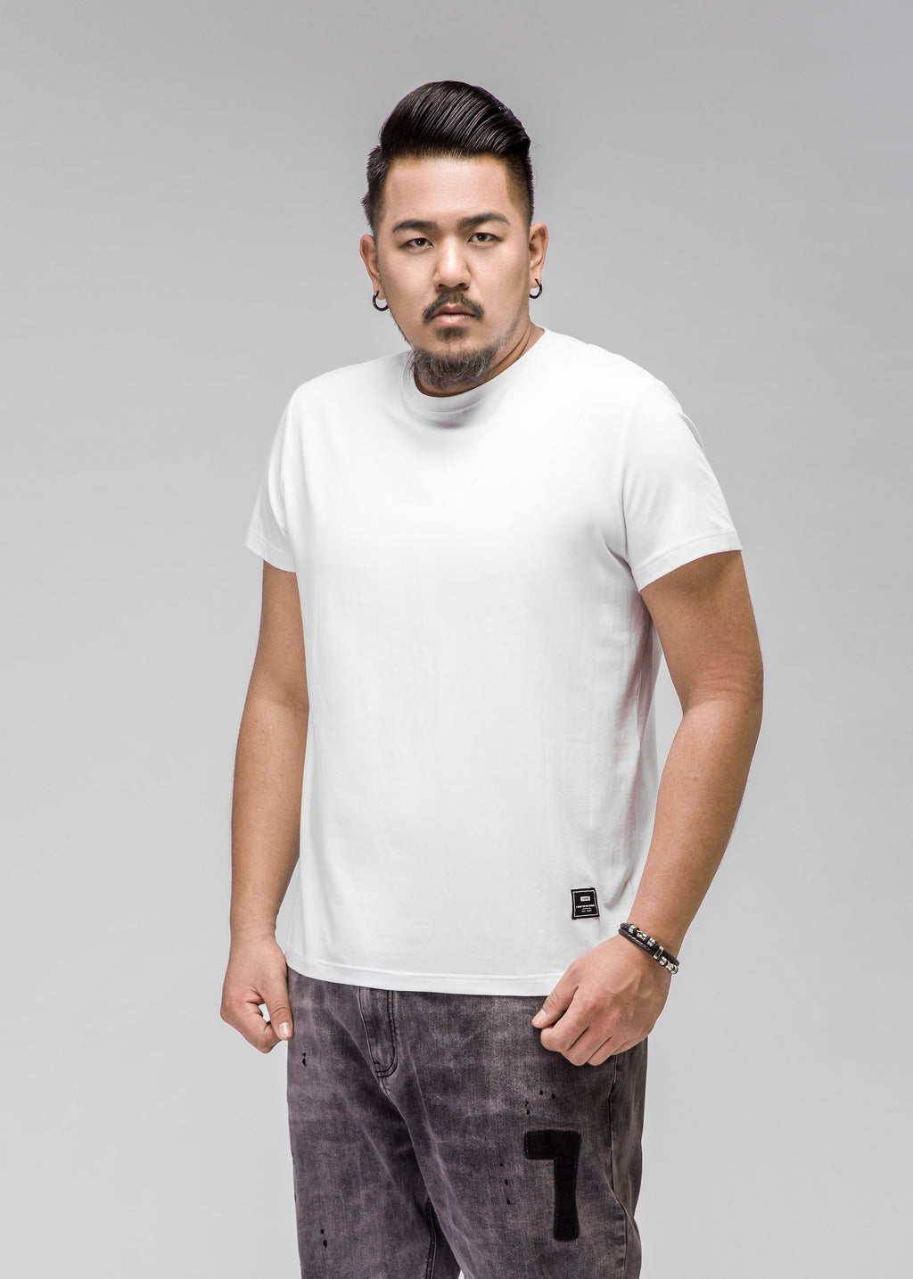 O-Neck Short Sleeved T-Shirt - 72JT0447